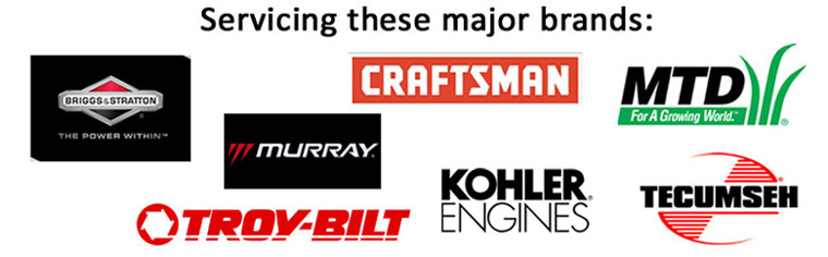 Servicing these major brands